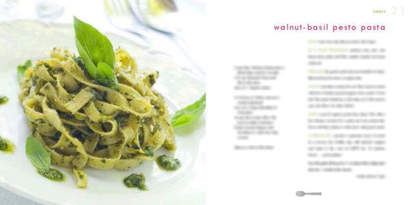 Walnut-Basil Pesto Pasta | by Judy Chambers